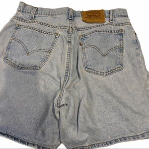 Vintage Levi 951 Orange Tag Mom Jean Shorts